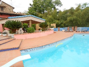 Villa with pool and sea view on Versilia's Hill : rustic with pool and garden for sale Bargecchia Massarosa
