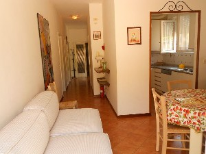 Lido di Camaiore villetta in bifamiliare 600 metri dal mare (6PAX) : two-family house with garden to rent  Lido di Camaiore